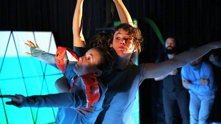 Wij gaan op berenjacht door Theater Sonnevanck / Silbersee — De Krakeling, theater voor de jeugd te Amsterdam