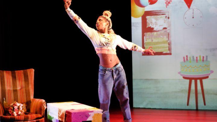 Hip Hop Hoera door Don't hit mama / Frontaal — De Krakeling, theater voor de jeugd te Amsterdam