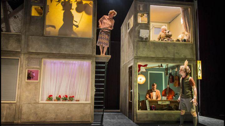 Muziek van beneden door Het Houten Huis  — De Krakeling, theater voor de jeugd te Amsterdam