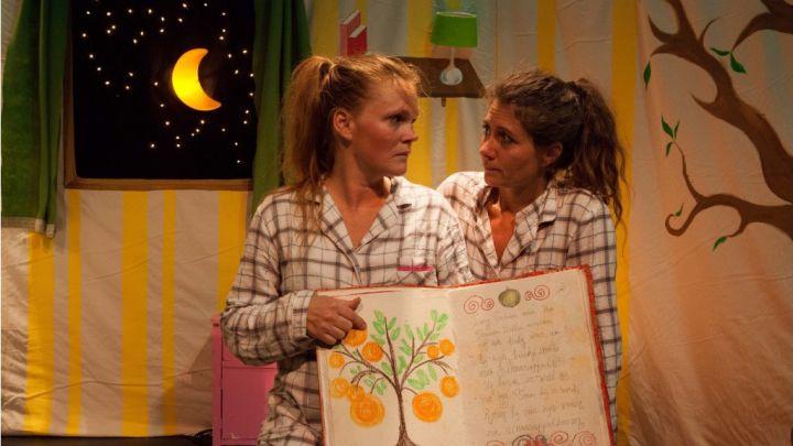 Blauwe Billenmonster door Het Kleine Theater — De Krakeling, theater voor de jeugd te Amsterdam