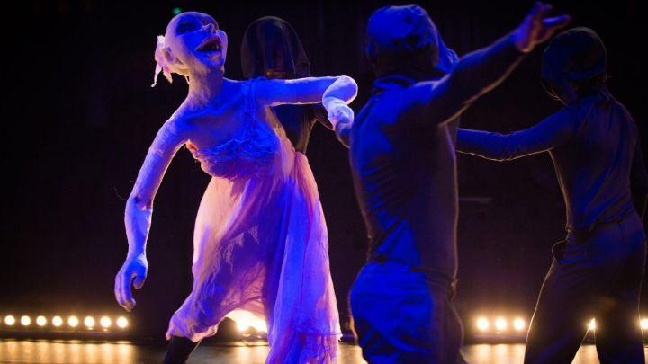 The Fairy Queen door Duda Paiva Company  — De Krakeling, theater voor de jeugd te Amsterdam