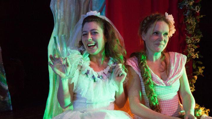 Rapunzel door Het Kleine Theater — De Krakeling, theater voor de jeugd te Amsterdam