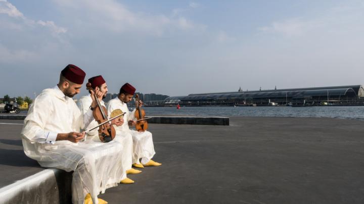 Andalusisch Lunchconcert in De Krakeling door Amsterdams Andalusisch Orkest — De Krakeling, theater voor de jeugd te Amsterdam