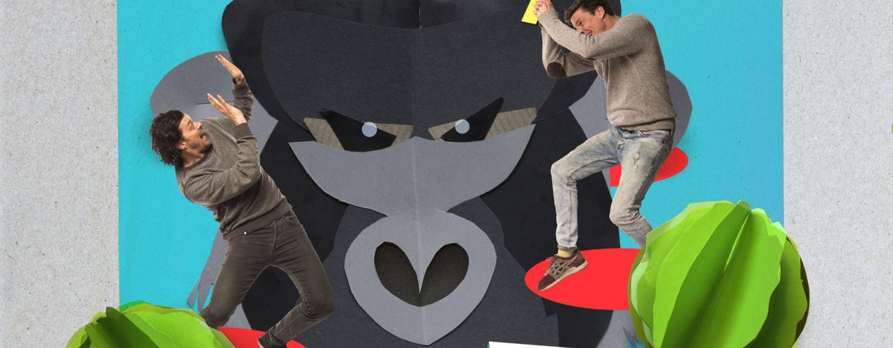 De waanzinnige boomhut van 13 verdiepingen door Meneer Monster — De Krakeling, theater voor de jeugd te Amsterdam