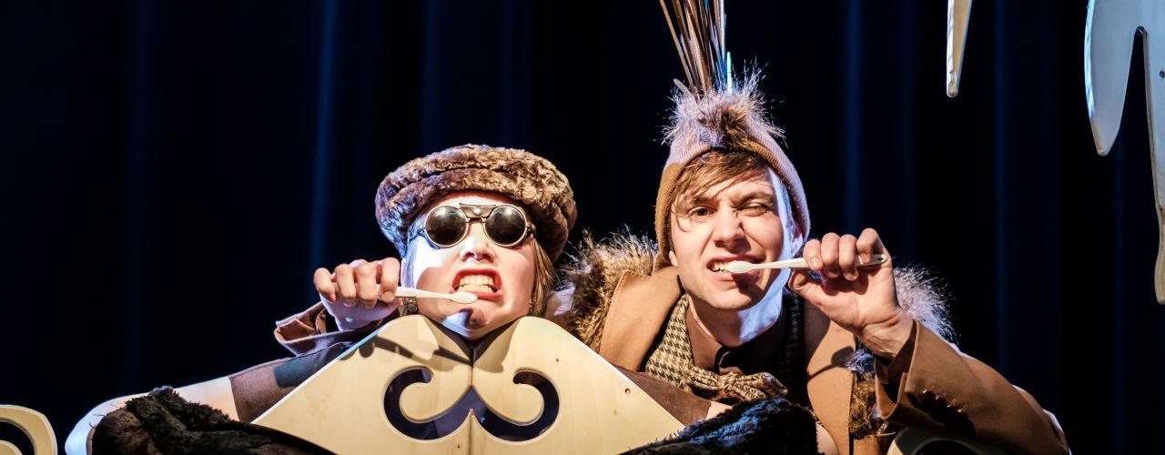 Stekeblind door 4hoog productiehuis (BE) — De Krakeling, theater voor de jeugd te Amsterdam