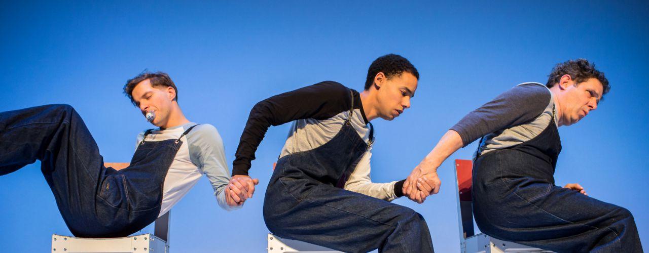 Drie door Maas theater en dans / BonteHond — De Krakeling, theater voor de jeugd te Amsterdam