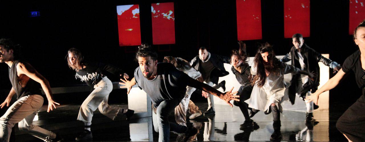 I call my brothers door De Toneelmakerij / Danstheater Aya — De Krakeling, theater voor de jeugd te Amsterdam