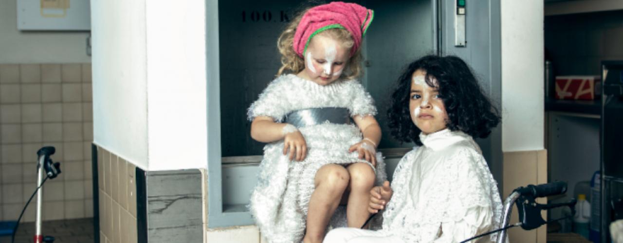 Buiten Dienst door Schippers&VanGucht — De Krakeling, theater voor de jeugd te Amsterdam