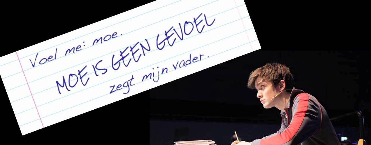 Dit is geen dagboek door Beer muziektheater — De Krakeling, theater voor de jeugd te Amsterdam