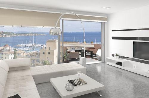 Ny exklusiv och designad lyxvåning nära havet vid Illetas