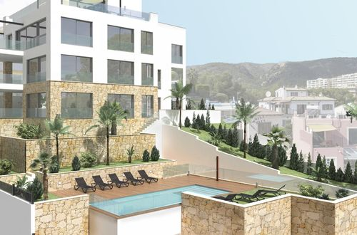 Einzigartiges Luxus-Apartment in Strandnähe mit privatem Garten in San Agustin