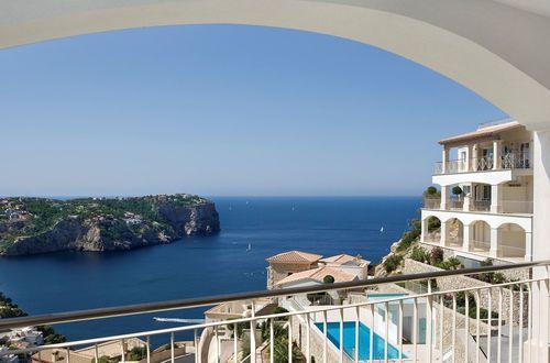Luxuös penthouse med havsutsikt och bästa läge i Puerto Andratx