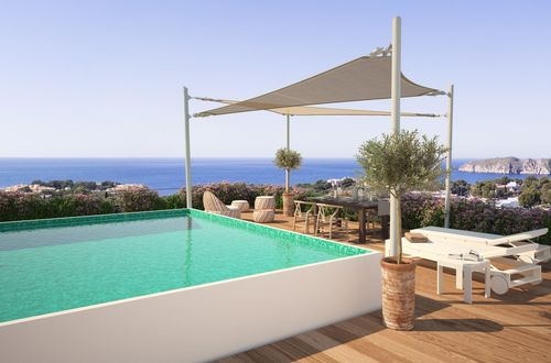 GREEN ELEMENTS – Heavenly penthouse in Santa Ponsa