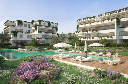 GREEN ELEMENTS – Luxus-Apartment in Neubauresidenz in Santa Ponsa