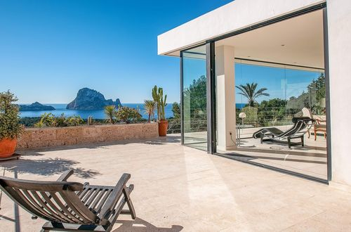 Exclusive sea view residence with breathtaking view over Es Vedra