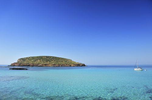 Modern frontline villa close to Ibiza Town