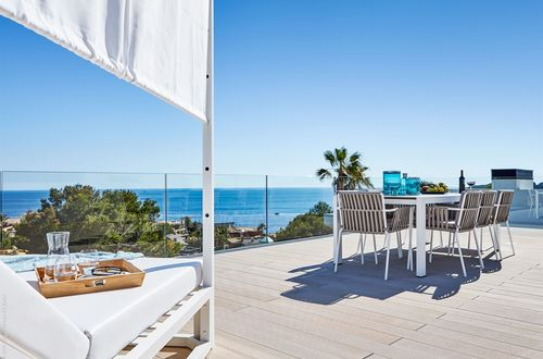 New construction - elegant villa with fabulous panoramic sea views