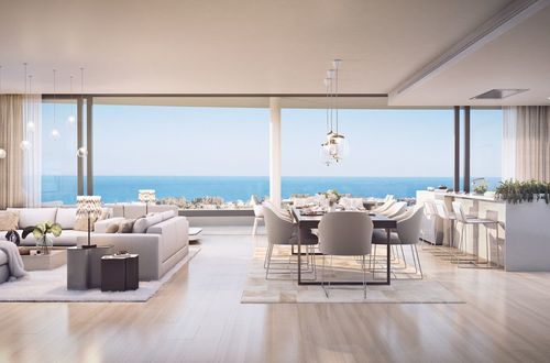 New luxury residence - stunning penthouse with panoramic sea views
