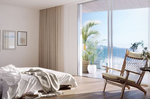 New apartment frontline to the sea with panoramic views