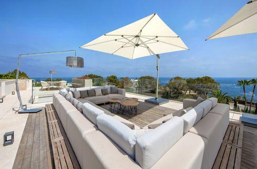 Modern villa with stunning panoramic sea views