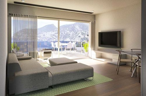 Very modern penthouse in newly built frontline residence