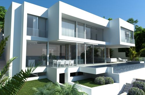 Project for an excellent villa in Costa d'en Blanes with panoramic sea views