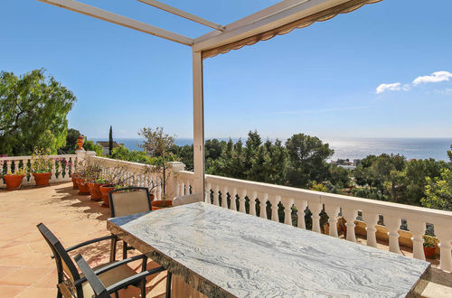 Beautifully located villa with panoramic sea views in Portals Nous