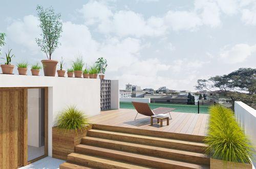 Unik penthouse med privat infinity-pool på taket