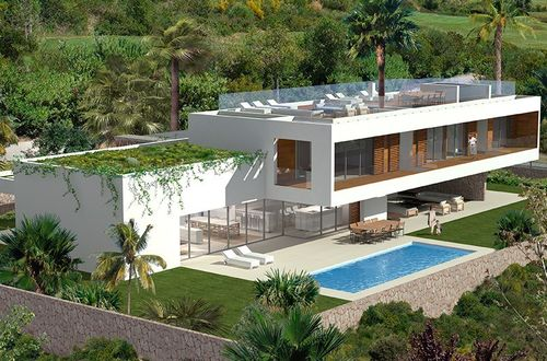 Classy new villa project with roof terrace
