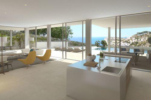 Exklusivt villa under byggnation helt nära Port Andratx