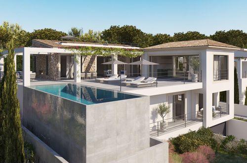 Fantastically located new build villa with sea views