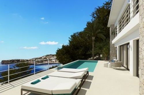 Sea view plot on the beautiful Cala Llamp