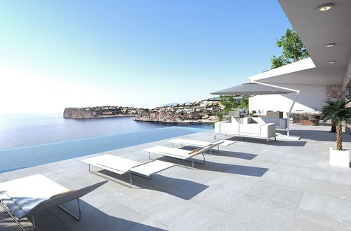 Villa plot with fantastic sea views