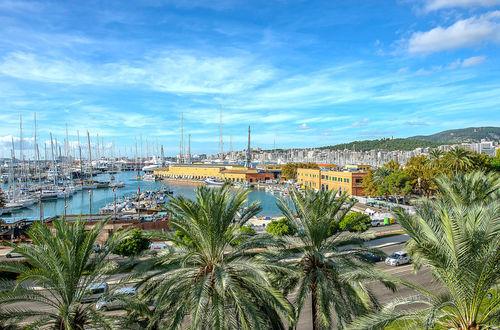 Luxury frontline penthouse in popular La Lonja area in Palma's old town