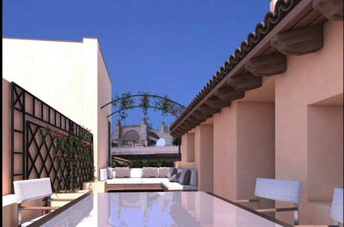 Fantastic penthouse with roof terrace and views of the Cathedral La Seu