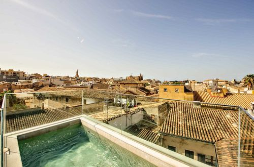 Top modern townhouse with roof terrace and dream view in the heart of Palma