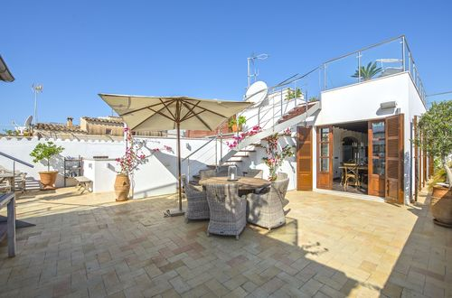 Beautiful penthouse in Palma with a roof terrace of more than 100m2