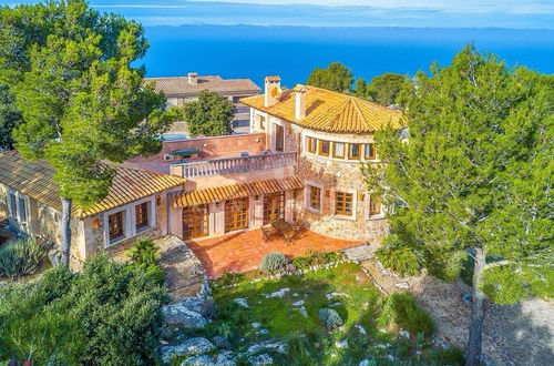 Traditional natural stone villa with breathtaking views