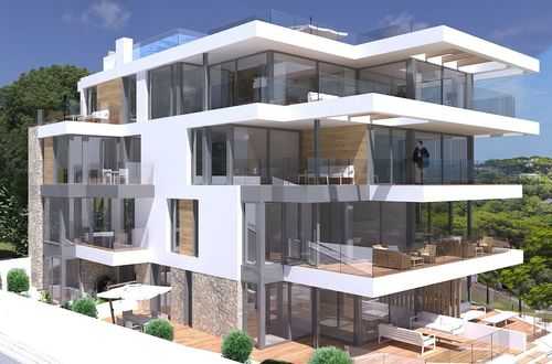 Brand new - exclusive apartment residence with sea view