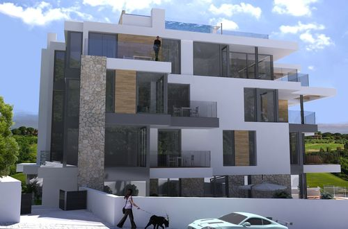 In new residence - spacious luxury apartment with sea views