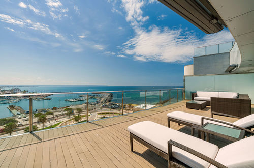Luxus Penthouse in 1. Meereslinie in Portixol