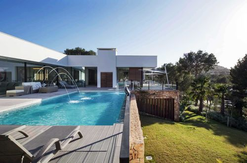 Spectacular modern design villa with sea and mountain view
