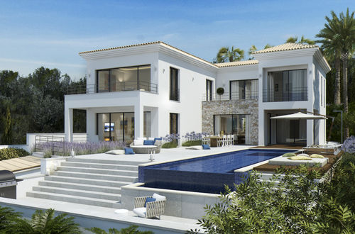 Development of a fantastic quality and design villa with amazing sea views