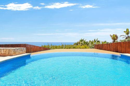 Mediterranean frontline villa with direct sea access