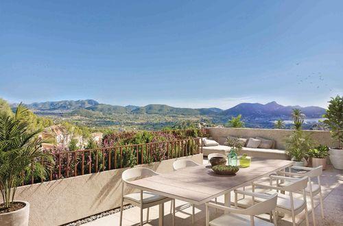 Modern ny villa med fantastisk utsikt över Medelhavet