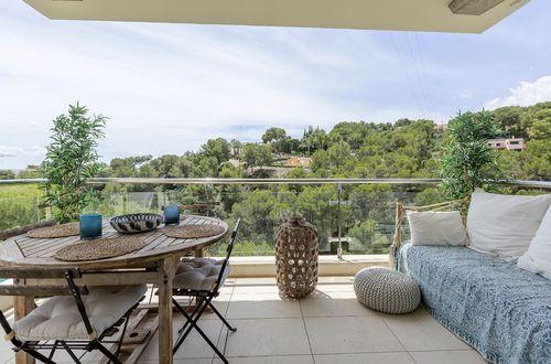 Välskött våning med härliga terrasser