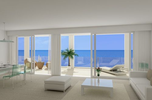 Fantastic opportunity to purchase a high quality apartment with overwhelming panoramic sea view