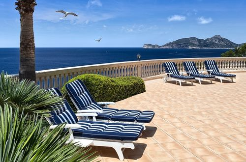 Marvelous villa with stunning sea views over the island Dragonera