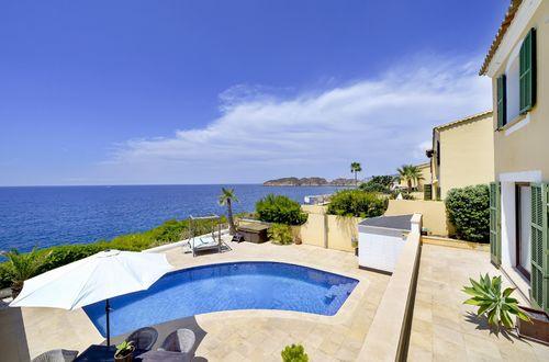 Villa vid havet erbjuder en bekväm livsstil