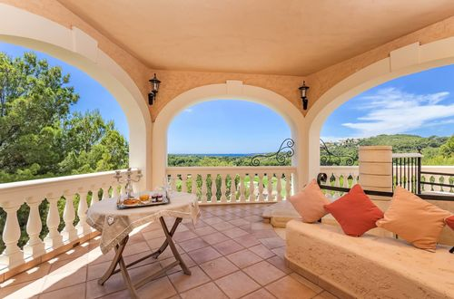 Inspired Spanish Architecture with beautiful views over the sea and golf course